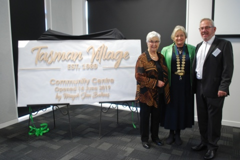 Community Centre Opening